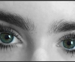beautiful, eyes, and lily image