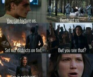 peeta, mockingjay, and katniss image