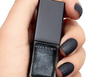 nails, black, and Givenchy image