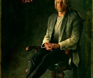 hunger games, woody harrelson, and catching fire image