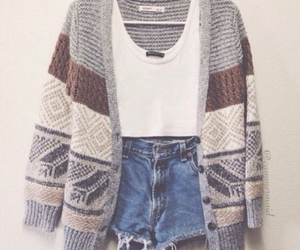 cozy, pretty, and outfit image