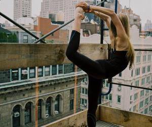 yoga, fitness, and dance image