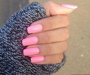 beauty, like, and nails image