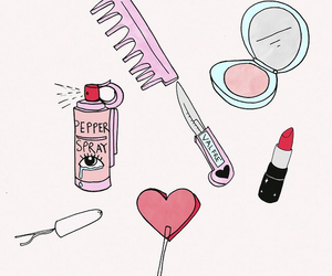 pink, art, and valfre image