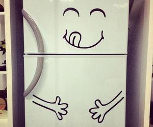 food, fridge, and funny image