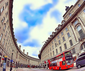 double decker bus, london, and england image