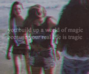 beach, grunge, and magic image
