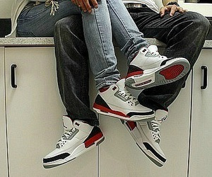 couple, jordan, and swag image