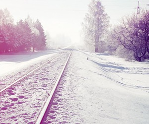 !, snow, and winter image