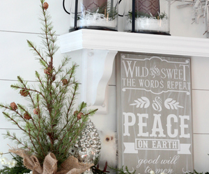 christmas, decor, and interior image