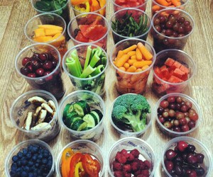 fit, food, and fruit image