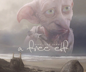 dobby, harry potter, and free elf image