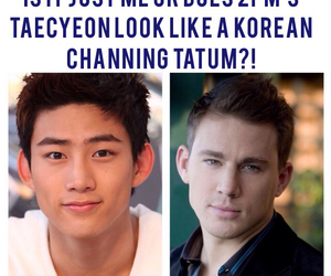 channing tatum, taecyeon, and 2PM image