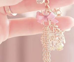 pink, pastel, and accessories image