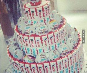 kinder, cake, and chocolate image