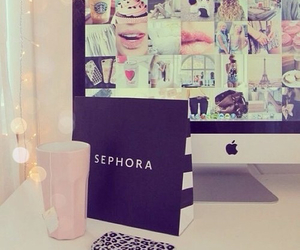 sephora, apple, and pink image