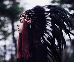 beautiful, cool, and headdress image