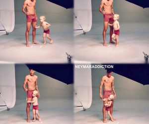 father, photoshoot, and son image