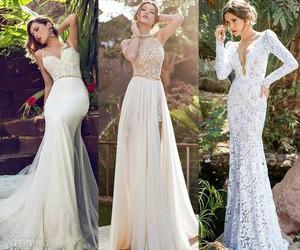 fashion, wedding dress, and dress image