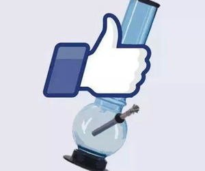 bong, cool, and facebook image