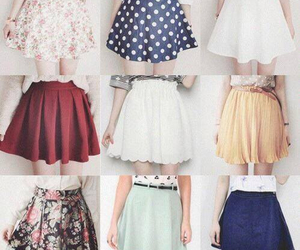 skirt, fashion, and clothes image