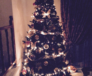 christmas, tree, and decoration image