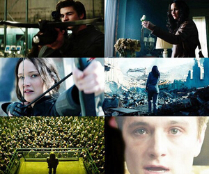 katniss, district 13, and gale image