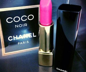chanel, lipstick, and coco chanel image