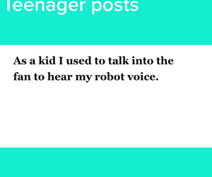 fan, kid, and robot image