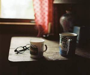 coffee, retro, and cup image