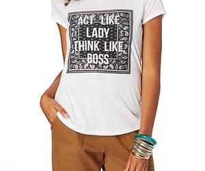 act like a lady, rue 21, and think like a boss image