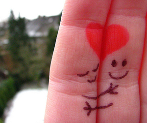 love, fingers, and cute image