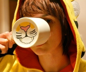 boy, cute, and tiger image