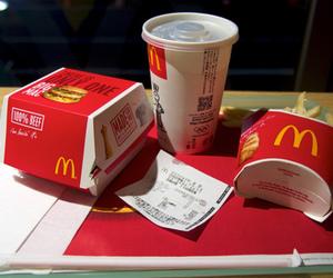 food and mc donalds image