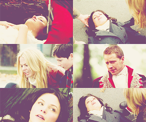 Jennifer Morrison, snowing, and swan queen image