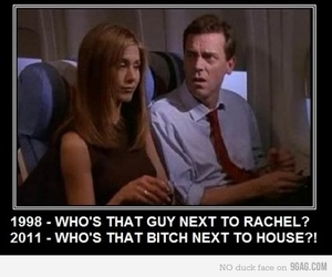 friends, rachel, and house image