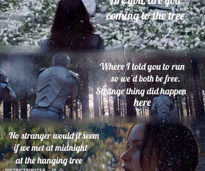 katniss everdeen and the hanging tree image
