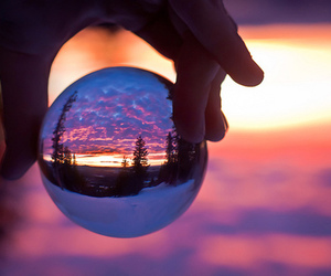 beautiful, photography, and crystal ball image