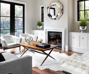 interior, white, and house image