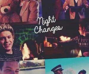 one direction and night changes image