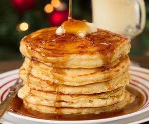 breakfast, eggnog, and christmas image
