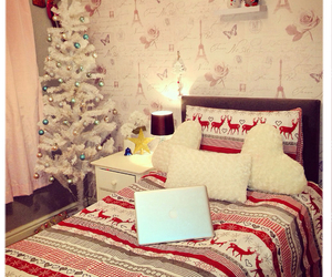 bedroom, christmas, and tumblr image