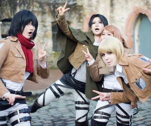 cosplay, petra, and armin image