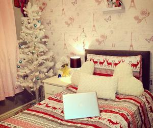 bedroom, christmas, and tumblr image