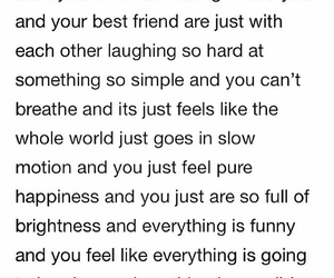 quotes, best friends, and laughing image