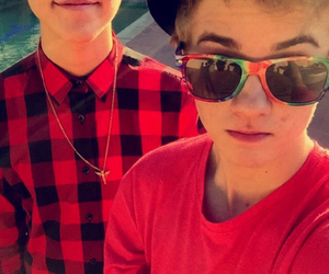 jack johnson, matthew espinosa, and magcon image