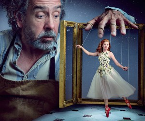 tim burton and Amy Adams image