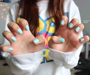 nails, tumblr, and girl image