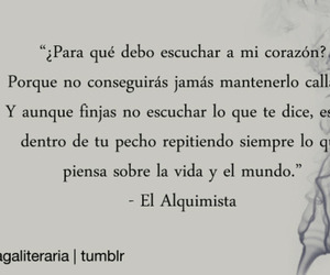 frases, el alquimista, and book image