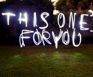 light painting and love image